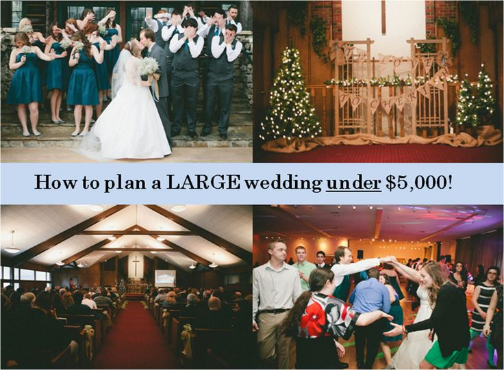 With all my friends getting married I feel like these tips are GREAT to share!  PLUS, one of my friend's Kelsey Pommeroy wrote this! Planning a Large Wedding Under $5,000! (350 guests invited!)