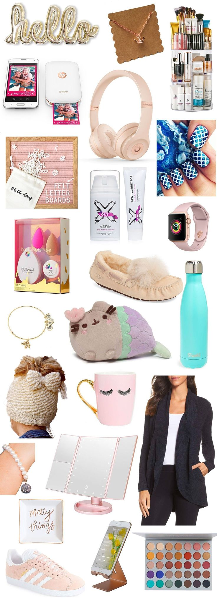 The ultimate Christmas gift guide for teenage girls! TONS of cute and unique Christmas gift ideas for teens that she's guaranteed to love!   Orlando beauty and fashion blogger Ashley Brooke Nicholas   gift ideas for teens, holiday gift guide, gift guide for teens, gifts for teen girls, teenage girl gifts