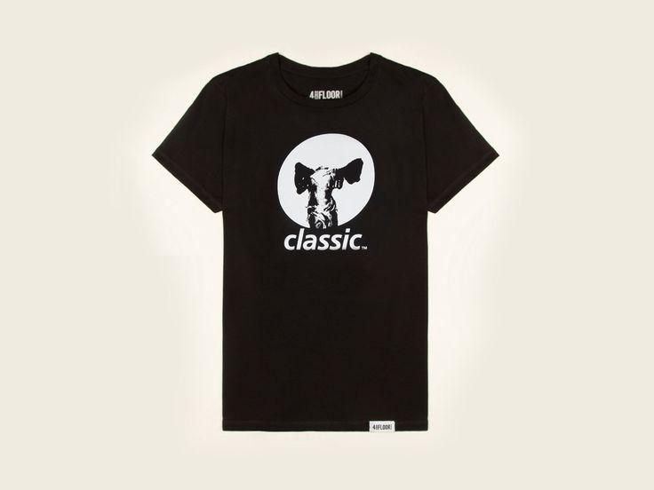 Classic Original Logo - Mens Black T-Shirt | Classic Music Company