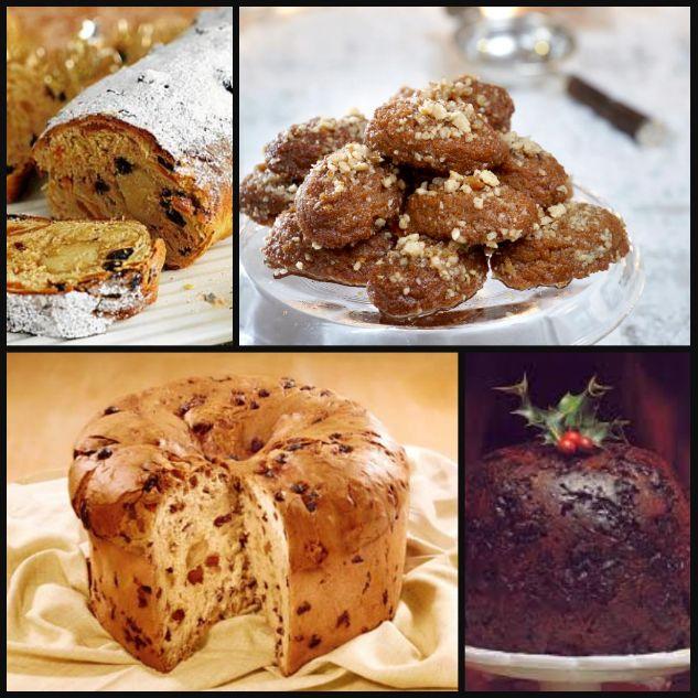 Από το Ιταλικό Panettone, το Γερμανικό Stollen και την Αγγλική πουτίγκα ως το Ελληνικό μελομακάρονο, οι κουζίνες του κόσμου έχουν αρχίσει να μυρίζουν Χριστούγεννα!