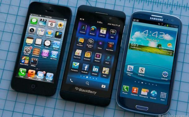BlackBerry Z10 camera versus iPhone 5, Samsung Galaxy S3