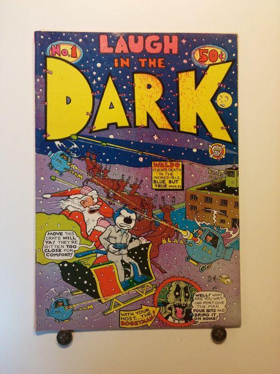 1971 Laugh In The Dark No. 1 - .50 cover price, Last Gasp Comics, Adult, Underground Comic - R. Hayes, Kim Deitch, 9+ Near Mint