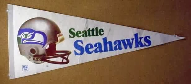 History's Dumpster: GO HAWKS!!! (Vintage Seattle Seahawks Gear)