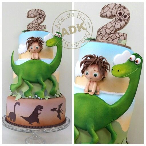 The good dinosaur  !! O bom dinossauro!  Cake