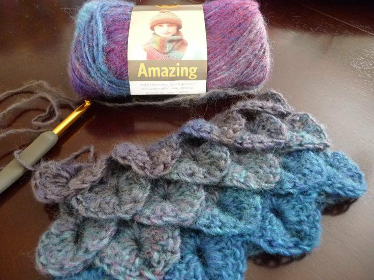 Crochet Crocodile Stitch : Crocodile Stitch - How To Crochet Crochet Pinterest