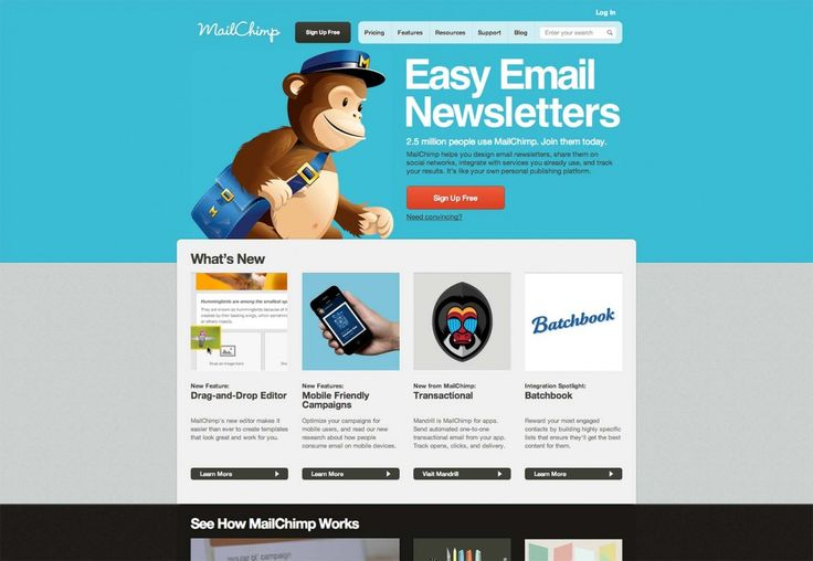 mail chimp newsletter templates - 7 best mailchimp newsletter templete for email marketing