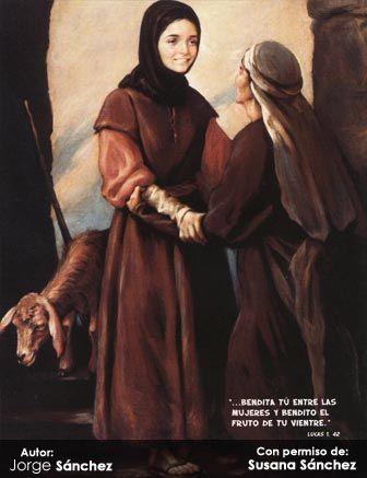 Misterios Gozosos   El Santo Rosario   Virgen Peregrina de la Familia