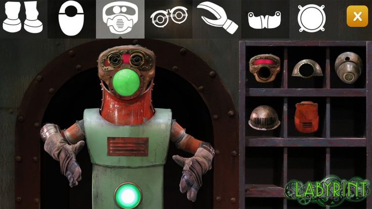 Spill: Bygg din egen Labyrint-robot! - NRK Super