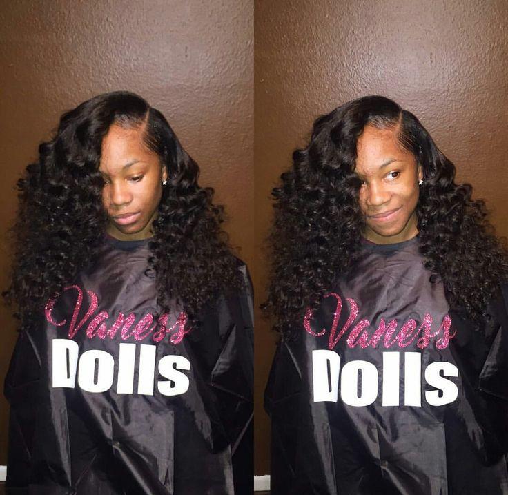 Hair Sew In Brazilian Malaysian Body Wave Curls Wand Cute