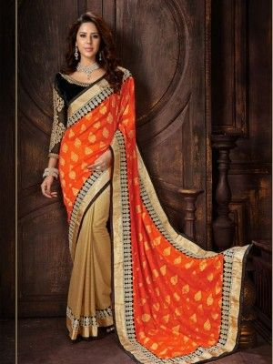 Rich Look Attire To Give Your A Right Choice For Any Party Or Function. Be Ready To Slip In The Comfort Zone Of party wear  Saree @ 2649
