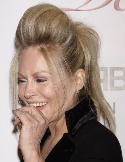 Beverly DAngelo rocks a Snooki-sized front poof