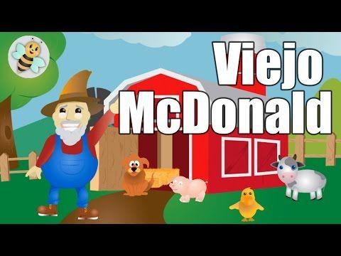 El Viejo McDonald, Musica para niños en español, Musica Infantil