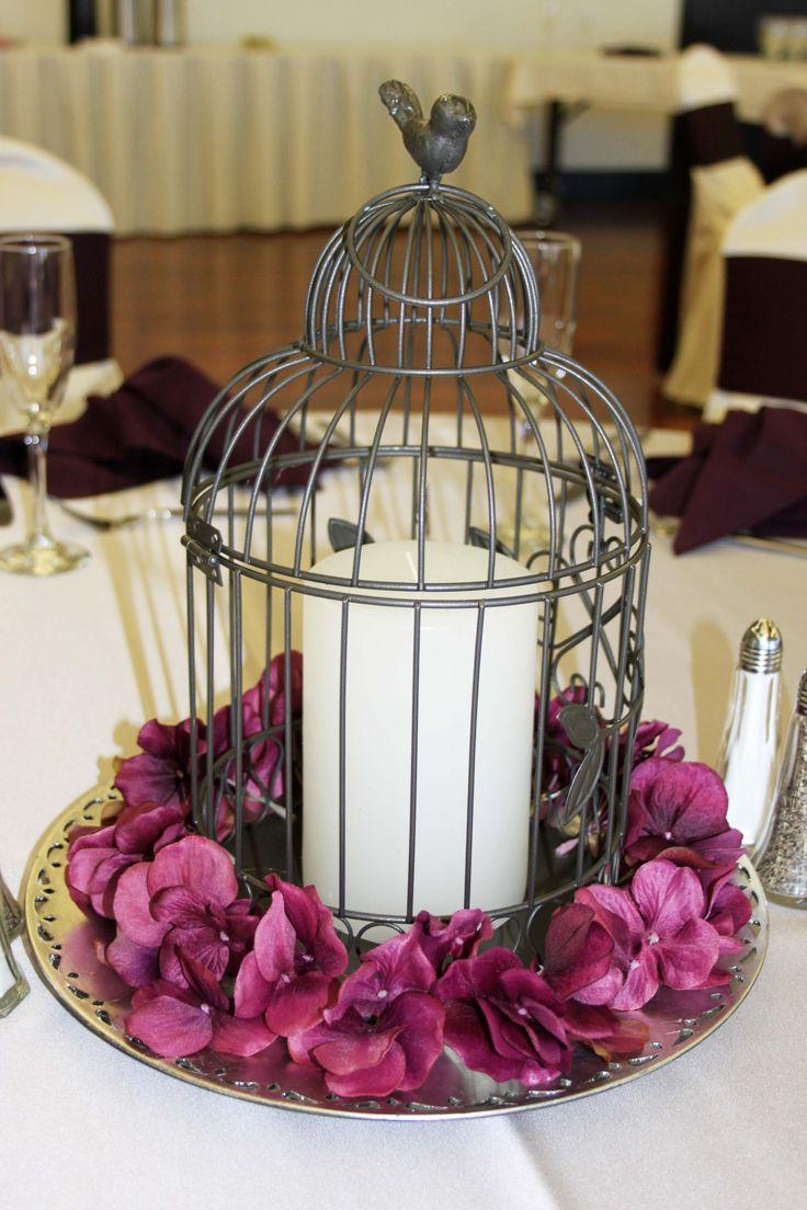 162 best Birdcage Centerpieces images on Pinterest | Flower arrangements,  At home and Bridal showers