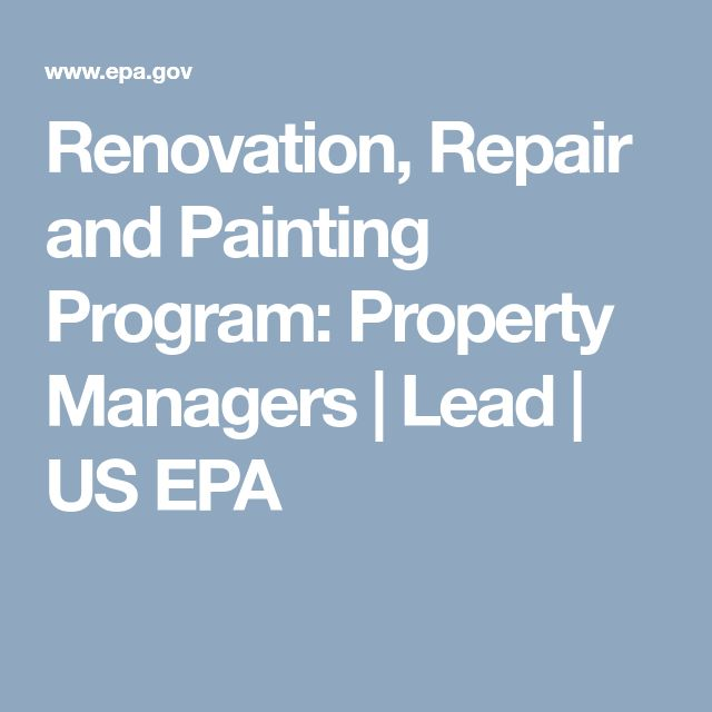 Helpful information for Property Managers about lead poisoning and renovations. Learn more at http://www.tchd.org/463/Childhood-Lead-Poisoning-Prevention