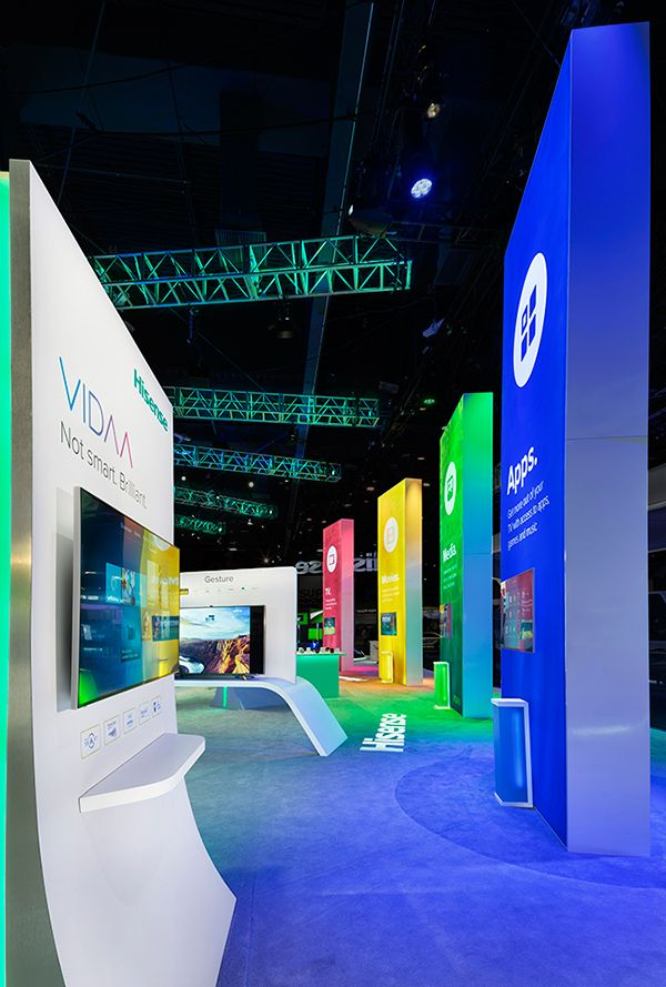 Creative Point of purchase displays and exhibition booths..