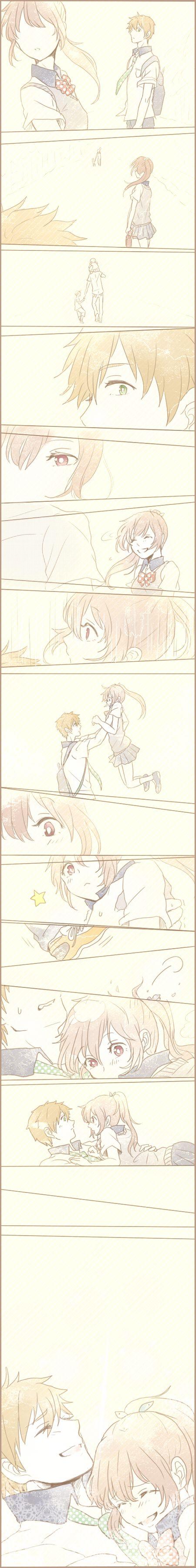 Makoto & Gou Nunca habia visto la imagen completaa!!