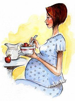 Диета для беременных по триместрам