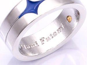 AmiAmi [Character & Hobby Shop] | THE IDOLM@STER Movie: Kagayaki no Mukogawa e! - Ring Pendant: Ami & Mami Futami