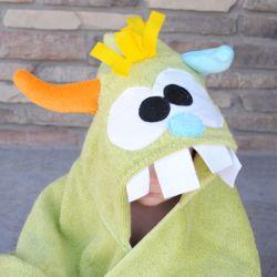 Monster Hooded Towel Tutorial | craftgawker