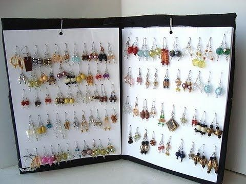 133 best images about jewelry storage display ideas on for Make your own jewelry rack