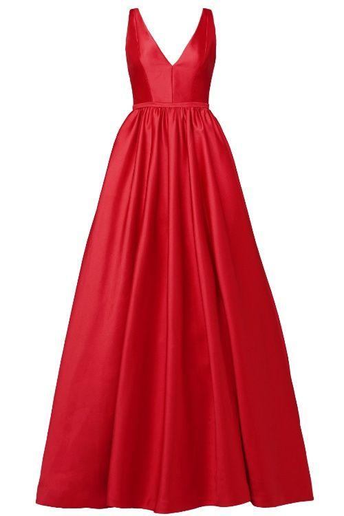 Rent The Runway ML Monique Lhuillier Pomegranate Gown