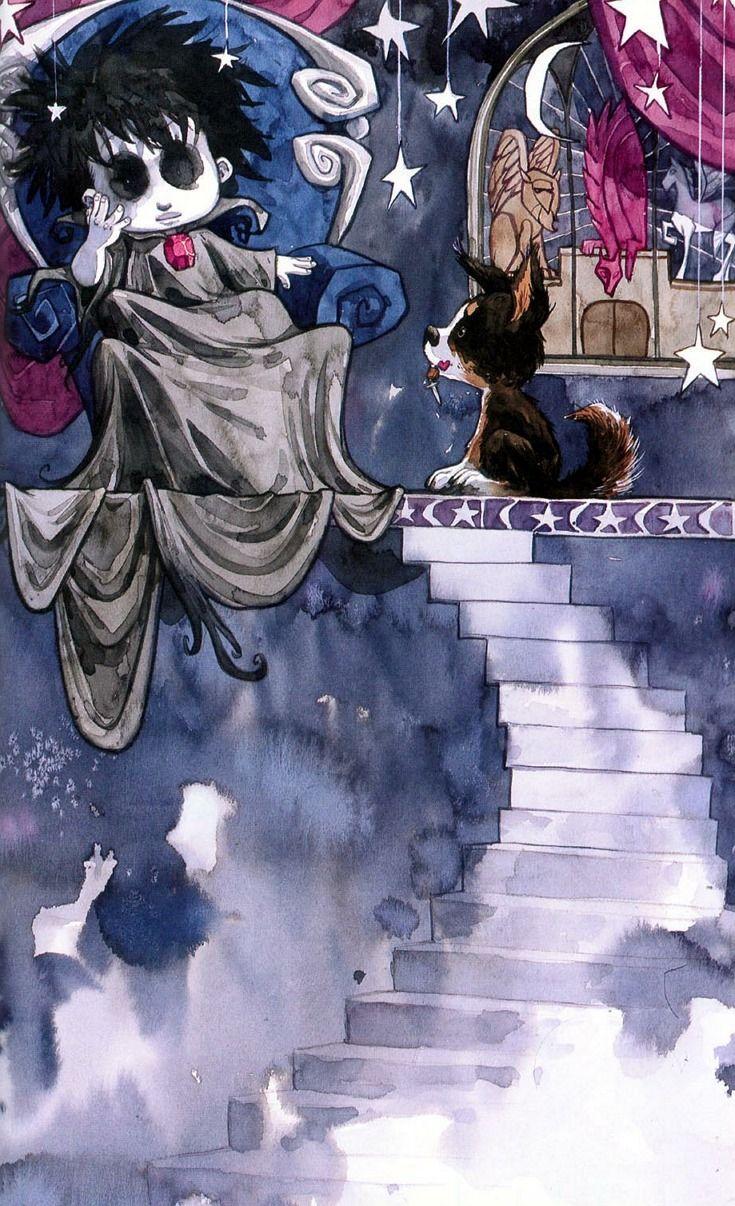Dream & Barnabas | The Little Endless Storybook (The Sandman) by Jill Thompson