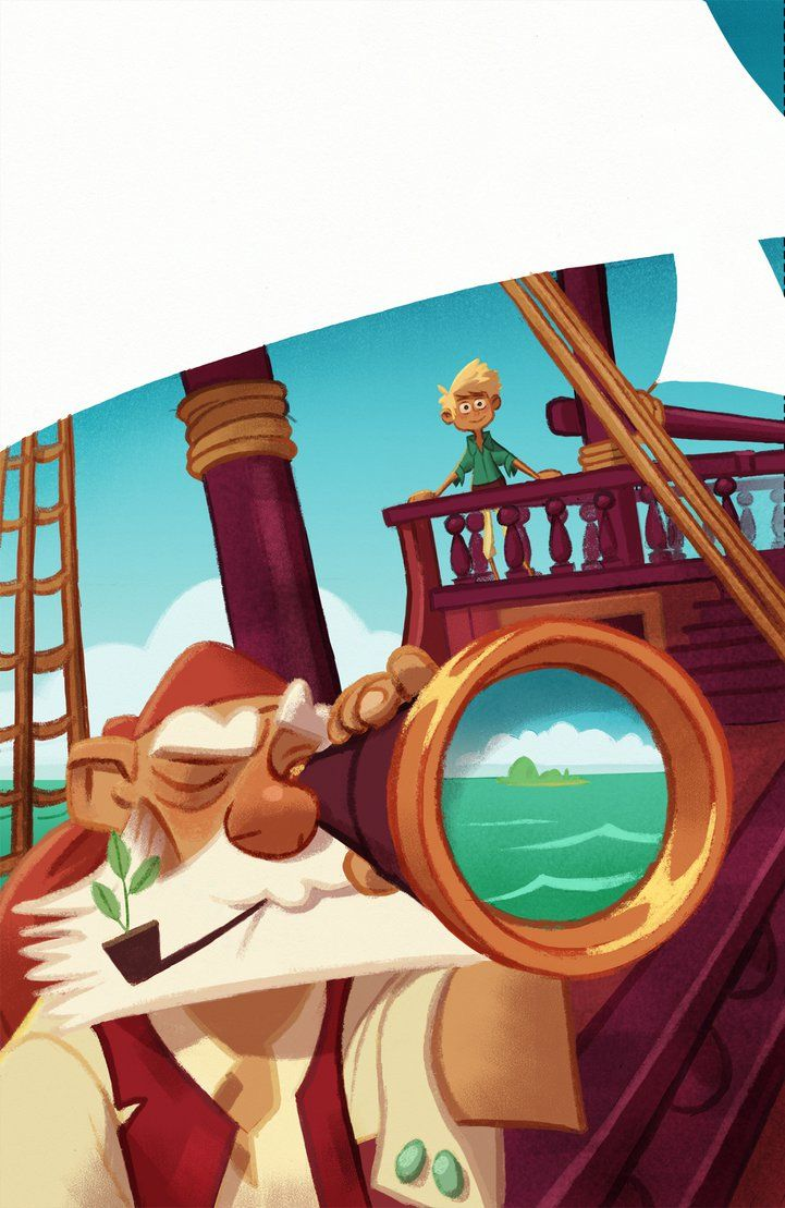 Pirate Illustration by WouterBruneel