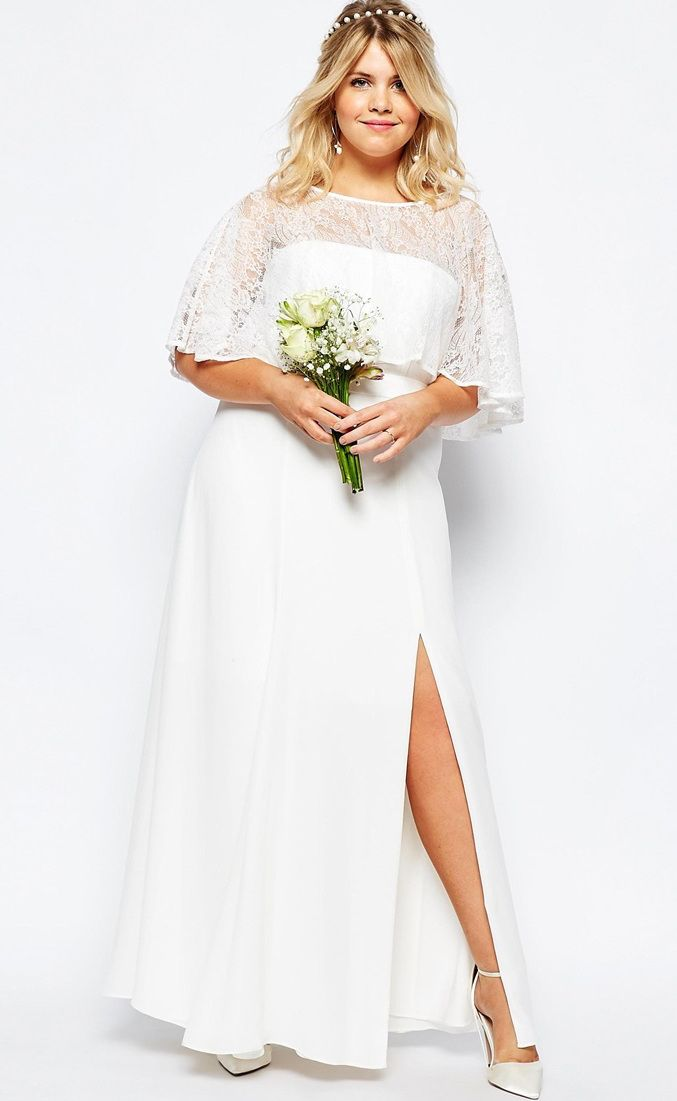 12 gorgeous plus-size wedding dresses —all under $500