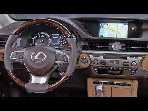 2017 Lexus ES 350 - INTERIOR - YouTube