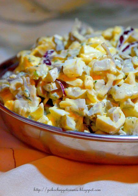 Pokochaj gotowanie: Sałatka z pieczarkami