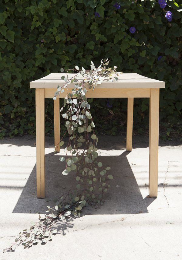 How To Make A Eucalyptus Table Runner
