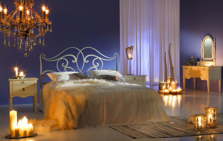 Red Romantic Bedrooms With Candles: Elegant Romantic Bedroom Ideas Candles Interior Style Ideas