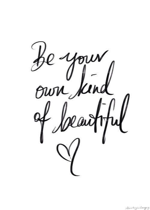 Be you-tiful.