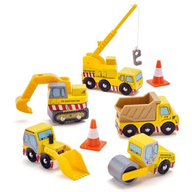 Construction Set by Le Toy Van  Toys ad Games Boys Pretend Play