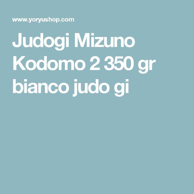 Judogi Mizuno Kodomo 2 350 gr bianco judo gi