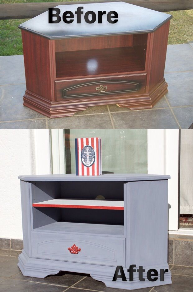 This lovely refurbished Marine Themed Corner Unit is for sale ZAR 1100