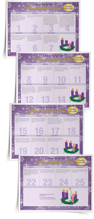 Religious Advent Calendar Ideas : Best images about advent christmas on pinterest