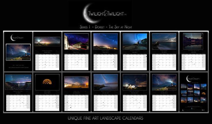2015 Dorset Landscape Astrophotography Calendar