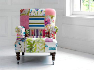 Zoom. Patchwork ChairUpholstered FurnitureFunky ...