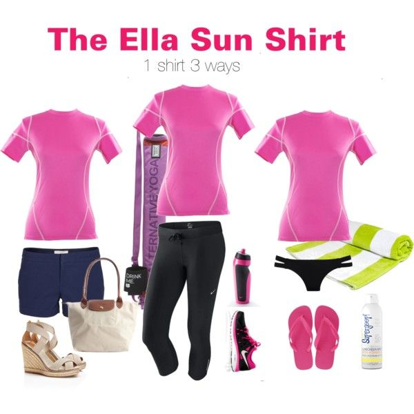 """""""The Ella: 1 shirt 3 ways"""" by uvcouture on Polyvore"""