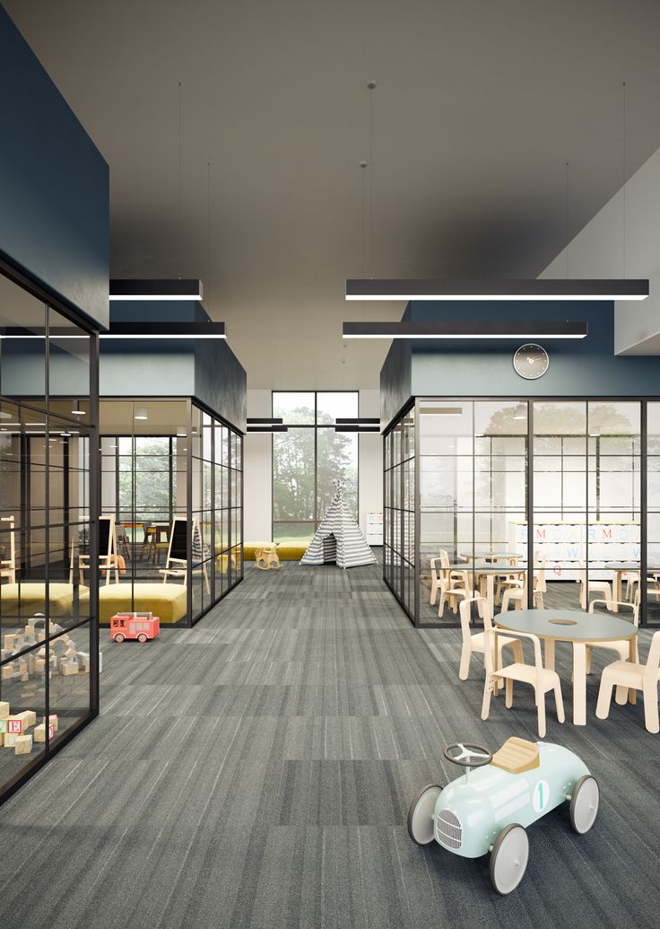 nursery school interior visualization / DAAKO studio