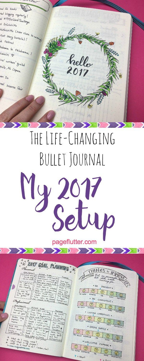 The life-changing bullet journal pages that help me start the New Year the right way!