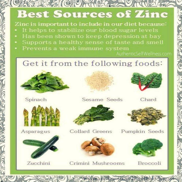 76 best images about vitamins minerals on pinterest for Cuisine zinc