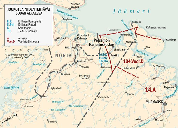 Petsamon taistelut 1939−40 | Talvisodan tietokeskus
