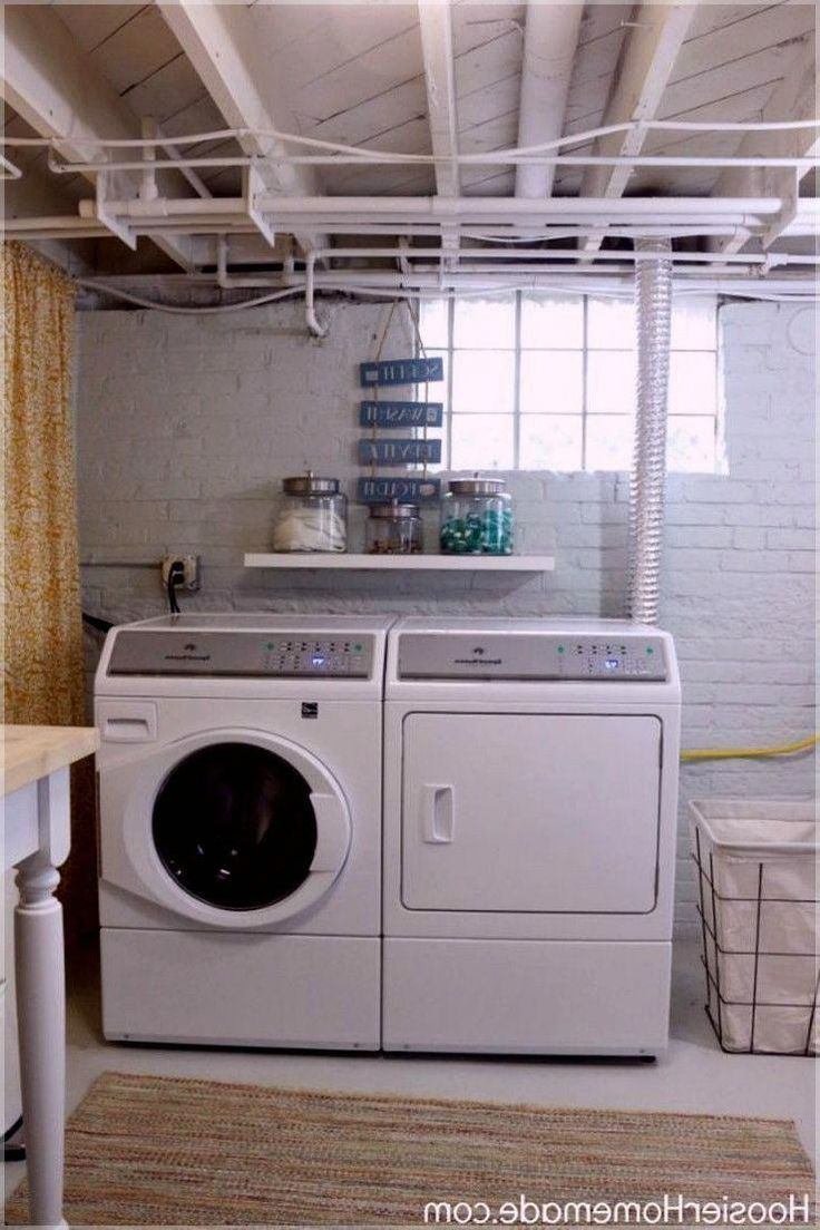 17+ Basement Laundry Room Ideas (On Decorating, Makeovers, and