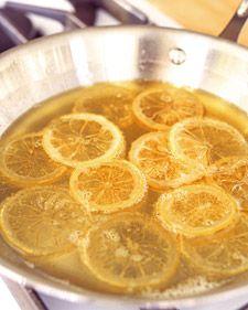 limon confitadas