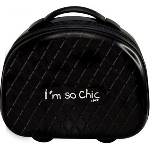 Vanity case rigide noir - I'm so chic