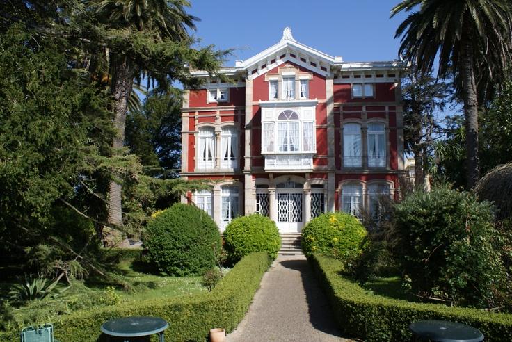 Villa la Argentina Palacio Indiano de 1899 Luarca Asturias España