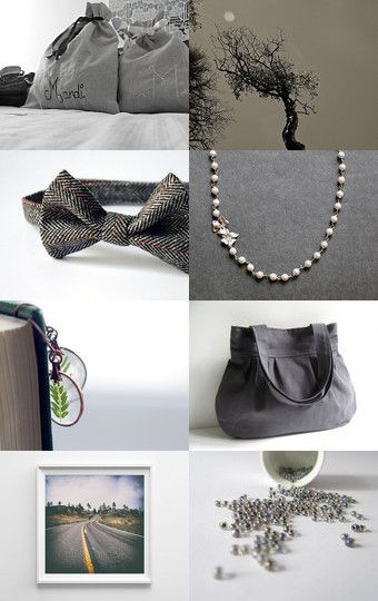 Grey for presence  by Needle And Line on Etsy--Pinned with TreasuryPin.com