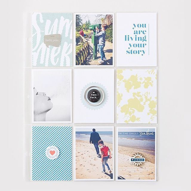 Week 18. Using bits from collections from One Little Bird and Paislee Press…